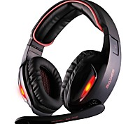 SADES SA903 USB 7.1 Channel Surround Stereo LED Light PC Gaming Headset Headphones with Mic