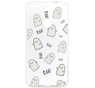 For Google Pixel XL Pixel Case Cover Boo Pattern Back Cover Soft TPU
