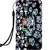 For LG G4 Plus Case Cover Skull Pattern 3D Relief PUP Material Phone Case