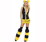 Cosplay Festival/Holiday Costumes Dress / Headwear / Leg Warmers Female Polyester