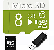 8GB  Micro SD TF Card  with SD SDHC Adapter and Multi-function OTG USB Card Reader