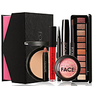 FOCALLURE 8Pcs Pro Cosmetics Makeup Box Gift Set