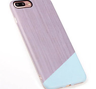 For IPhone 7Plus 7 6Plus 6 High Quality Ultra Thin TPU Marble Skin Back Cover Case IMD Protector Mobile Phone Case