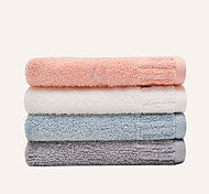 4Pcs Hand TowelSolid High Quality 100% Cotton Towe   Random Color