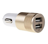 Зарядные устройства для автомобилей Other 2 USB порта с кабелем Для мобильного телефона(5V , 2,1A)