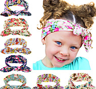 8 Colors/set Fashion Bebe Baby Girl Dot Knot Headband Newborn Infant Hair Accessories Children Elastic Hair Bands