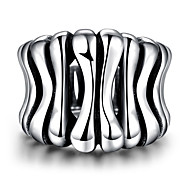 Ring Jewelry Steel Fashion Gray Jewelry Casual 1pc