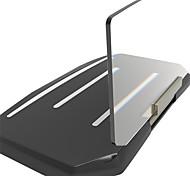 support de navigation GPS portable universel affichage tête haute HUD pour les voitures téléphone intelligent t de support de navigation