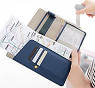Travel Passport Holder & ID Holder Waterproof / Dust Proof / Portable Travel Storage Leather metal