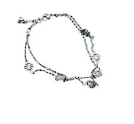 Womens'   Jewelry Anklet Titanium Steel1pc