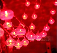 10M Red Color 100-LED String Light(220V)
