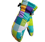 Ski Gloves Full-finger Gloves Women's / Men's Activity/ Sports Gloves Snowproof Gloves Snowboarding Polyester