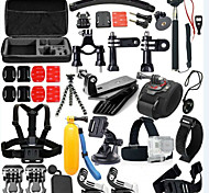 Accessori Kit 46 in 1 Regolabili Impermeabile Galleggiante Anti-polvere PerXiaomi Camera Gopro 5 Gopro 4 Gopro 4 Silver Gopro 4 Session