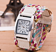 Korean version of the fashion watch Bohemian style colorful watch women's leisure watch watch