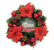 Christmas Pine Needles Wreath Ornaments 50cm