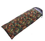 Sleeping Bag Rectangular Bag Single 10 Hollow Cotton 1000g 200X75 Camping / Traveling / IndoorWaterproof / Rain-Proof / Windproof /