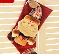 Christmas gift bag socks children Christmas decoration gift bags of candy bagSanta Claus Style