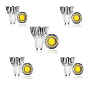 3W E14 / GU10 / GU5.3 / E26/E27 / B22 LED Spotlight 1 COB 300 lm Warm White / Cool White / Natural White AC 85-265 V 10 pcs