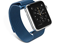 Stainless Steel Milanese Fully Magnetic Closure Clasp Bracelet Metal Loop Wrist Strap for Apple Watch Iwatch Watchband