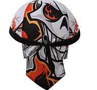 Xintown Cycling Pirate Scarf Sports Headband Riding Hat Headscarf Bandana Cap Men's and Women's Riding Cap White