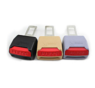 New General belt buckle latch safety belt buckles belts plug motor harness clip thick buckle 3 colors