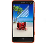 (3 piezas) Protector de pantalla de alta definición profesional con paño de limpieza para Nokia 625