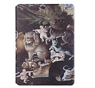 Per Porta-carte di credito Origami Custodia Integrale Custodia Con animale Resistente Similpelle per Apple iPad Air 2 iPad Air