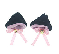 Headpiece Inspired by Cosplay Cosplay Anime Cosplay Accessories Headpiece Black / Pink / Brown Cotton Male / Female / Kid