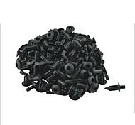 100 Pcs 5mm Hole Vehicle Car Door Rivet Fastener Trim Panel Retainer Clip