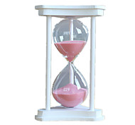 Hourglasses Novelty Toy Toys Glass / Wood White / Pink For Boys / For Girls 8 to 13 Years / 14 Years & Up