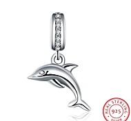 европейский и американский стиль популярным ювелирные изделия стерлингового серебра 925 циркон кулон висит браслет - аксессуары форма