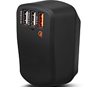 Fast Charge/Portable Charger/Travel Fast Charging/Safe Quick Charging/Quick Charge/Qualcomm Certified Quick Charge 3.0/Travel Adaters