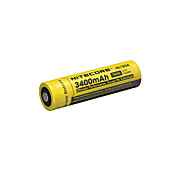 Nitecore nl1834 3400mAh 3.7v 12.6wh 18650 li-ion batterie rechargeable