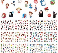 12 Designs Nails Cartoon Decals Fashion Nail Art Water Transfer Stickers For DIY Beauty Manicure Decoration Tool BN469-480