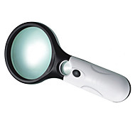Magnifiers/Magnifier Glasses Generic 3 Times (Large Lenses), 45 Times (Small Lenses) 22/75 Plastic