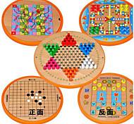 Настольная игра Шахматы Обучающая игрушка Для получения подарка Конструкторы Квадратный Круглый Дерево 2-4 года 5-7 лет 8-13 лет Игрушки