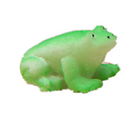 Display Model Model & Building Toy Toys Novelty Frog Rubber Green For Boys / For Girls