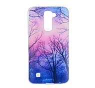 For LG V20 V10 K10 K8 K7 G5 G4 G3 Case Cover Tree Pattern Back Cover Soft TPU