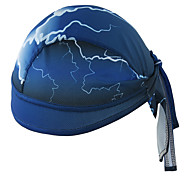 Xintown шлем лайнер крышка coolskin черепа крышка sweatband для езды на велосипеде плавание альпинист мужчины женщины велосипедная кепка - синий