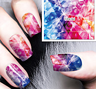 1pcs The Rose Vines Watermark Nail Stickers Nail Art Design