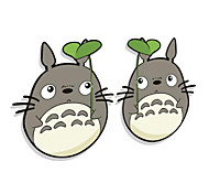 Funny Tonari No Totoro Car Sticker Car Window Wall Decal Car Styling 2 PCS