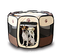 Cat / Dog Carrier & Travel Backpack Pet Carrier Portable / Foldable Red / Brown / Yellow / Rose Nylon