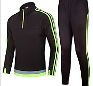 Winter long sleeved football training suit jacket jacket appearance suit custom