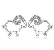 Women's Stud Earrings Sterling Silver Jewelry For Party