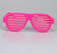 Party Favor Rechargeable Pink Color Sound Activated Sunglasses