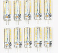 10 Pcs Con filo Others G4 96led Sme3014 7W AC220-240 v 1200 lm Warm White Cold White Double Pin Waterproof Lamp Other