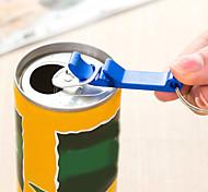 Key Buckle Bottle Opener Aluminium Alloy Compact and Convenient (Random Colours)