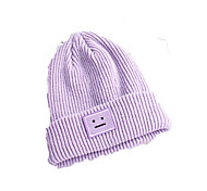 Ski Hat Unisex Breathable Thermal / Warm Comfortable Snowboard Cotton Black Purple Light Beige Classic Skiing Leisure SportsFall/Autumn