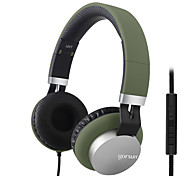 Gorsun GS-789 Music Stereo Headsets with Volume Control Microphone Super Bass Headphone for Mobile Phone PC Tablet Laptop