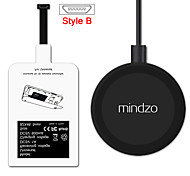 Style-B Android  Wireless Charging Kit Charger Adapter Receptor Pad Coil Receiver For All Android Micro USB Style-B Smartphone